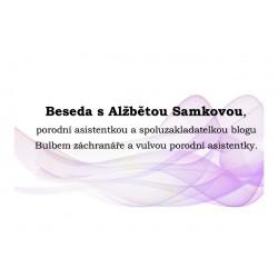 Beseda s Alžbětou Samkovou 16. 10. od 9:30