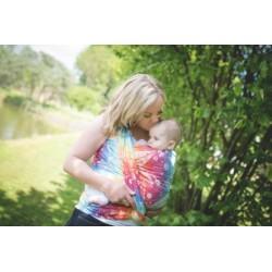 Nošení dětí v šátku a ergonomickém nosítku pro začátečníky a těhotné